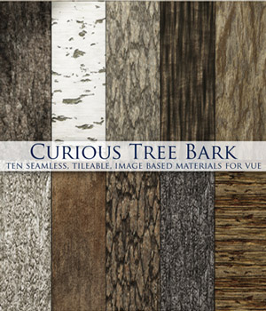 Curious Tree Bark for Vue Software 2D curious3d