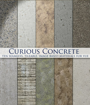 Curious Concrete for Vue 2D Software curious3d