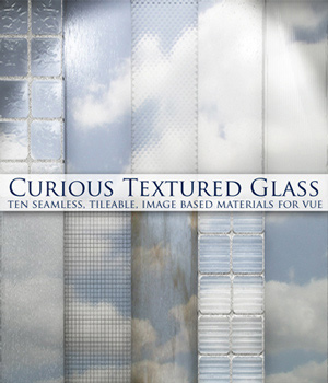 Curious Textured Glass for Vue 2D Graphics curious3d