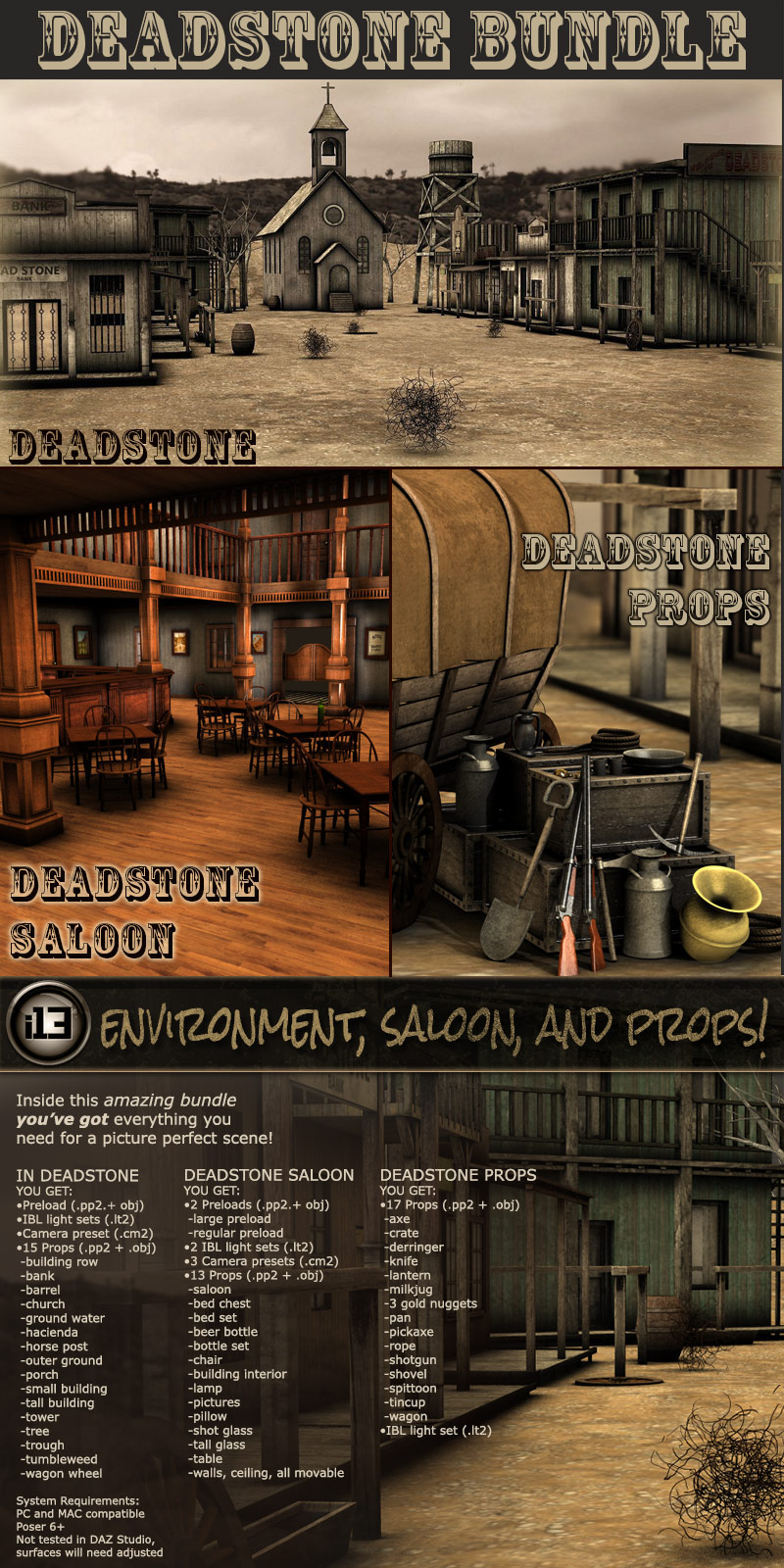 i13 Deadstone Bundle - Extended License