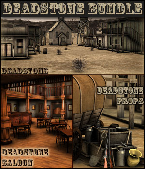 i13 Deadstone Bundle - Extended License Gaming 3D Models Zeddicuss