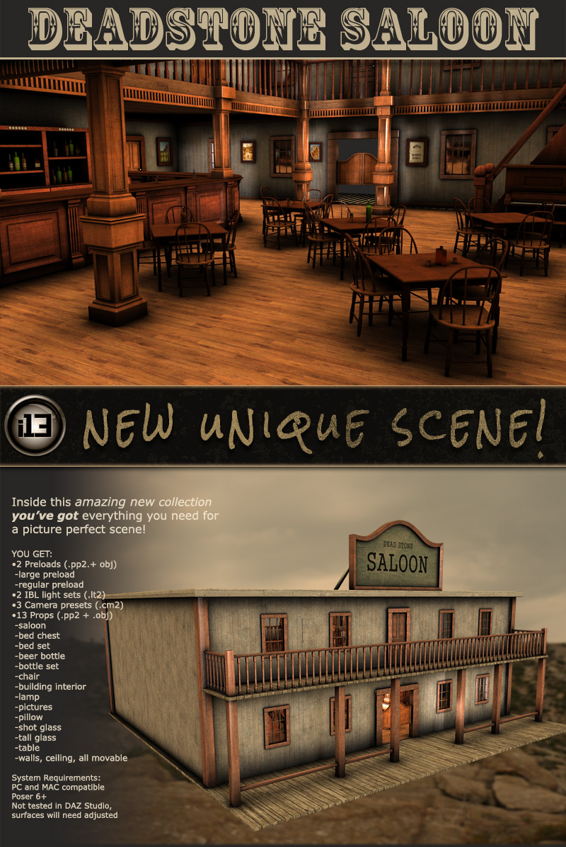 i13 Deadstone Saloon - Extended License