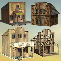 Wild West Town - Extended License image 2