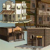 Wild West Town - Extended License image 3