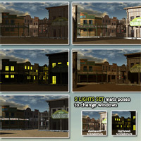 Wild West Town - Extended License image 6