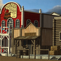 Wild West Town - Extended License image 8
