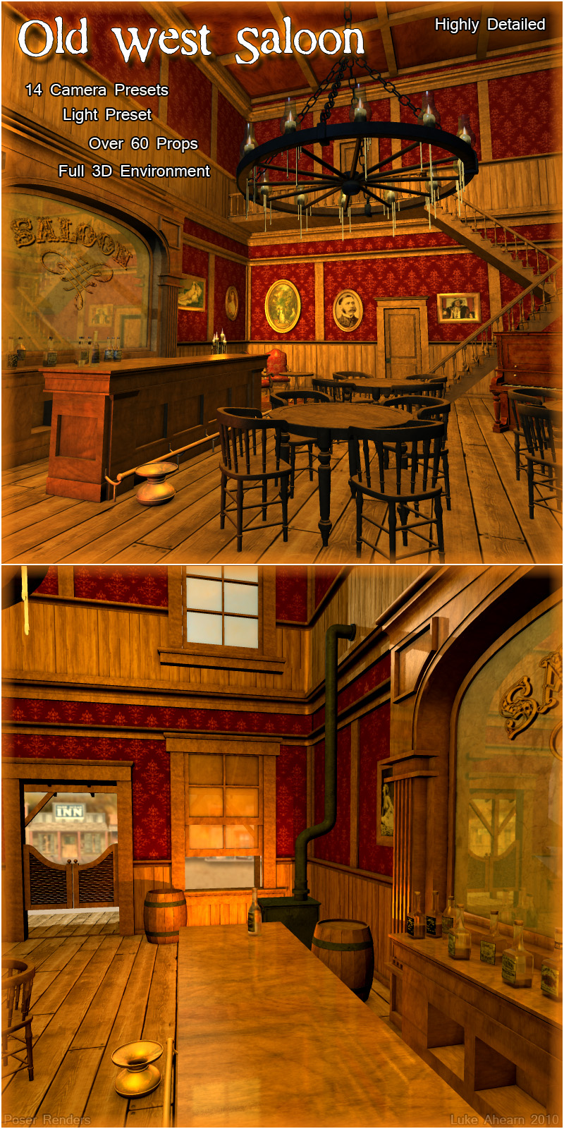 Old West Saloon - Extended License