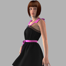 Ribbon Bow Dress image 1
