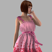 Ribbon Bow Dress image 2