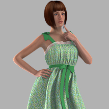 Ribbon Bow Dress image 4