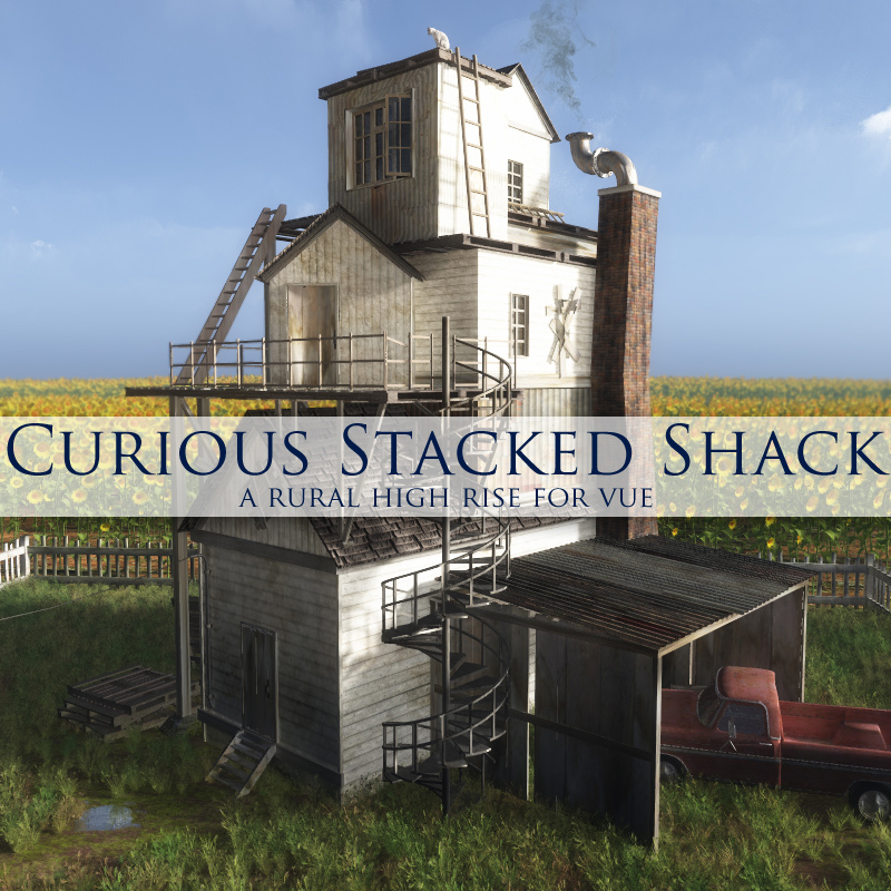 Curious Stacked Shack for Vue