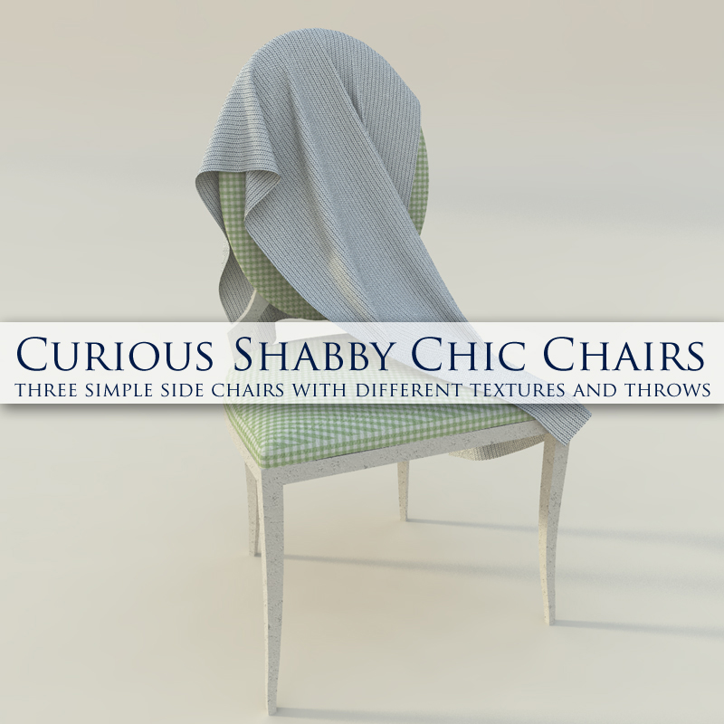 Curious Shabby Chic Chair for Vue
