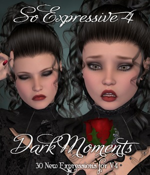 So Expressive 4 - Dark Moments 3D Figure Assets vanda51