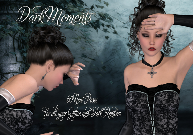 Dark Moments Poses for V4