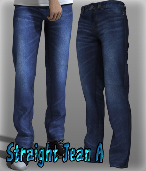 Straight Jean A 3D Figure Essentials kang1hyun