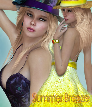 Summer Breeze V4/A4/G4/Elite 3D Figure Essentials kaleya