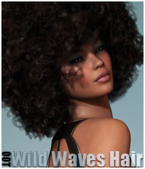 Wild Waves Hair and OOT Hairblending 3D Figure Essentials outoftouch