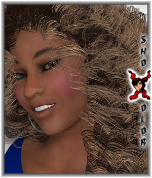 ShoXoloR for Aphana Hair 3D Figure Assets 2D Graphics ShoxDesign