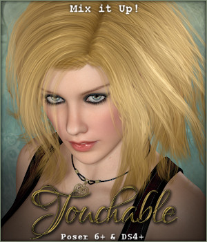 Touchable Jenny 3D Figure Essentials -Wolfie-