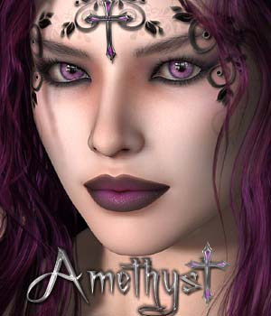 MDD Amethyst for V4.2 3D Figure Essentials Maddelirium