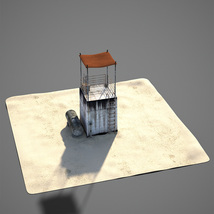Desert Land: Tower Lookout image 4