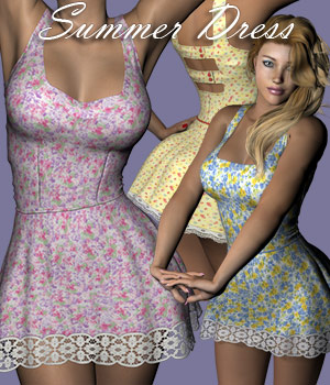 Summer Dress 3D Figure Essentials RPublishing