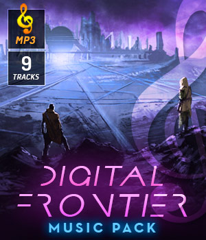 Digital Frontier Music Pack 3D Models DemianFox