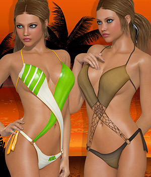 Summer for Criss Cross 3D Figure Essentials Atenais