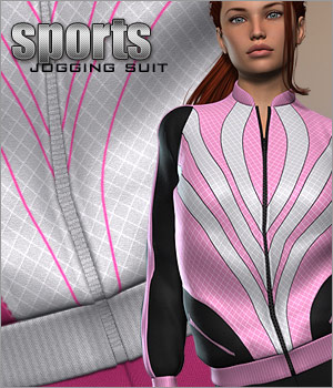Sports - 70s Jogging Suit 3D Figure Essentials P3D-Art