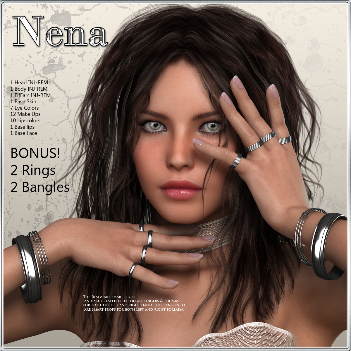 VH Nena ( Character & Jewels)