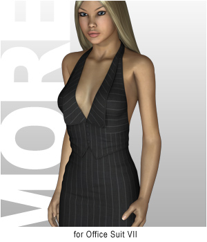MORE Textures & Styles for Office Suit VII 3D Figure Assets motif