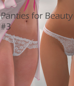 Panties for Beauty #3 3D Figure Essentials Arrin