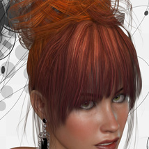 ShoXoloR for Gwen Hair image 2