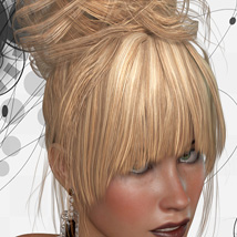 ShoXoloR for Gwen Hair image 3