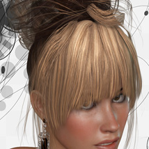 ShoXoloR for Gwen Hair image 5