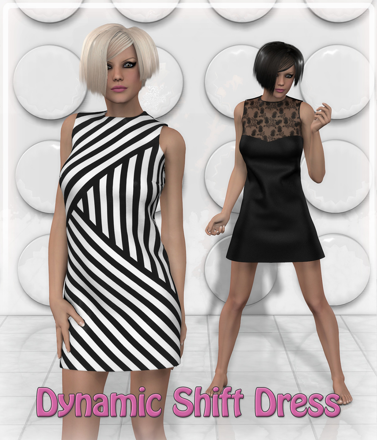 Dynamic Shift Dress