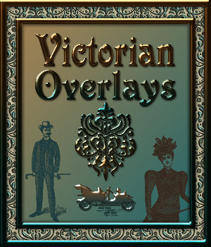Design Resource: VICTORIAN Transparent Seamless Overlay Pack 2D Graphics Merchant Resources fractalartist01