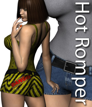 Hot Romper 3D Figure Assets RPublishing
