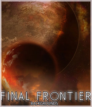 Final Frontier - Backgrounds 2D Graphics Belladzines