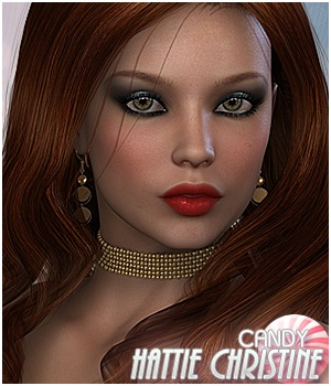 Candy Hattie-Christine 3D Figure Essentials Sveva