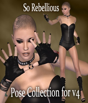 So Rebellious 3D Figure Assets vanda51