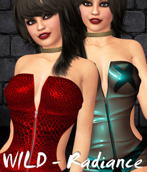 WILD for Radiance 3D Figure Essentials ANG3L_R3D