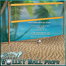 Beach Volley Ball - Props image 1