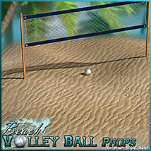 Beach Volley Ball - Props image 2