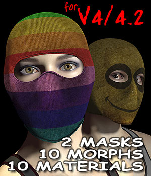 V4 Face Masks 3D Figure Essentials coflek-gnorg
