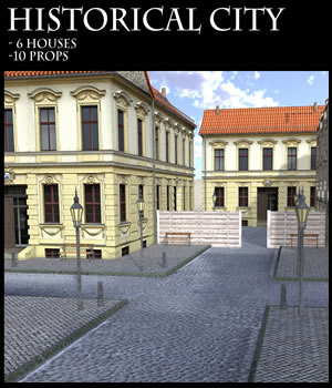 Historical City 3D Models dexsoft-games