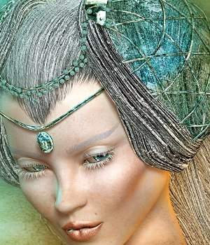 Glitteratti for Greek Fantasy Royal 3D Figure Essentials Spiritfoxy