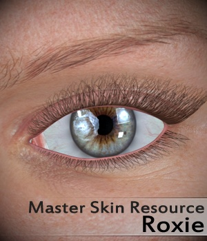 Master Skin Resource 2 - Roxie 2D Graphics Merchant Resources 3Dream