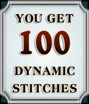 Dynamic Stitches Vol. 3 2D Graphics Merchant Resources boundless