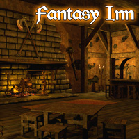 Fantasy Inn - Extended License Gaming 3D Models LukeA